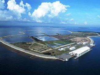 Almacenamiento de hidrógeno para energía en la isla de Semakau de Singapur