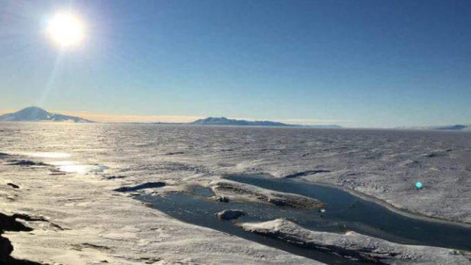Clima inusual en la Antártida provoca mayor deshielo