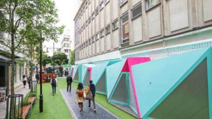 Baldosas interactivas para generar energía en Londres