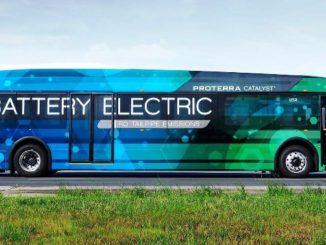 Gran autonomía para el nuevo autobús eléctrico de Proterra