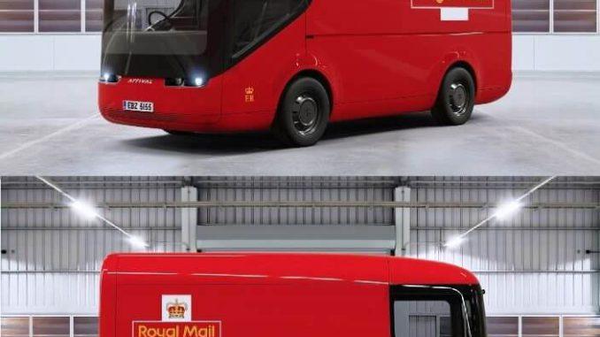 Nueva camioneta eléctrica de la Royal Mail