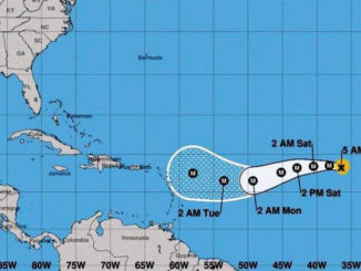 El peligroso huracán Irma
