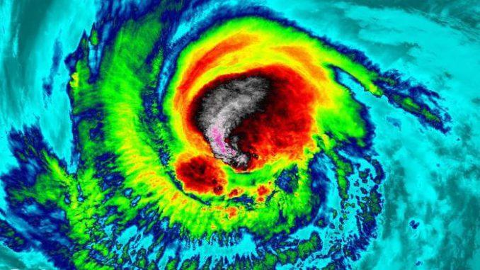 El huracán Irma es ahora un huracán categoría 5