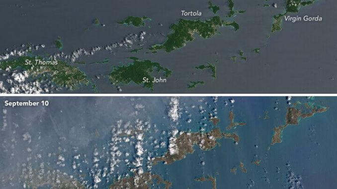 Consecuencias del huracán Irma en islas del Caribe