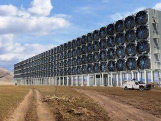 Emisiones negativas. Prototipo de sistema de captura de CO2