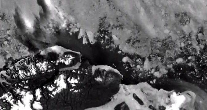 El bloque de hielo más estable y sólido del Ártico se está derritiendo