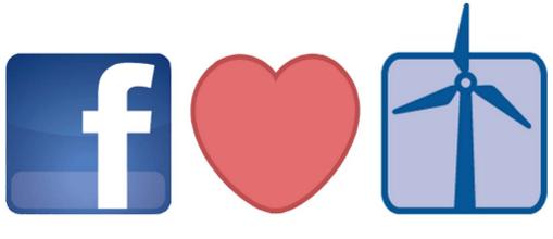 Facebook promete funcionar con 100% de energía renovable para 2020