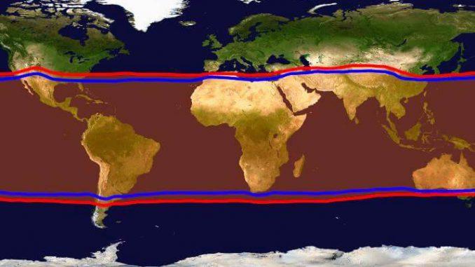 Los trópicos se expanden según lo predicho por los modelos climáticos