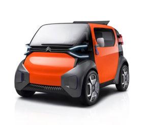 AMI One el pequeño EV conceptual de Citroën