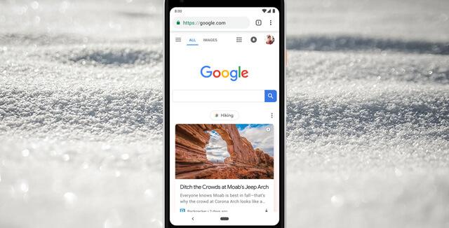 Discover Feed de Google