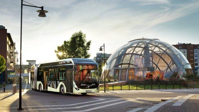 Autobuses eléctricos Volvo para Gotemburgo Suecia