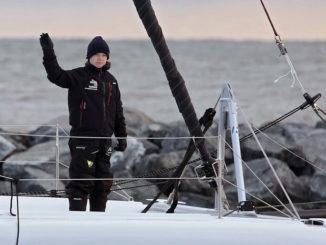 Greta Thunberg navega a Madrid