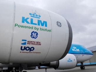 La aerolínea holandesa KLM dio la bienvenida a SHV Energy como el último miembro en unirse a su Programa Corporativo de Biocombustibles (KCBP)
