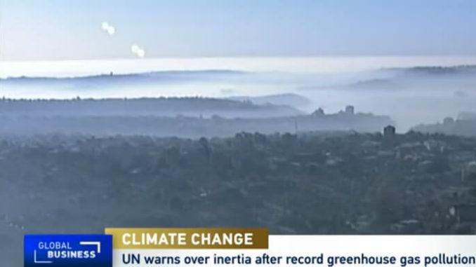 La ONU advierte sobre la inercia después de la contaminación récord de gases de efecto invernadero