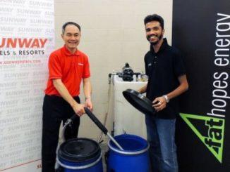 Sunway Hotels de Malasia reciclará el aceite de cocina usado en biodiesel