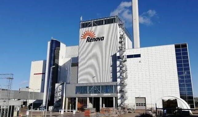 Planta de energía de residuos sueca Renova