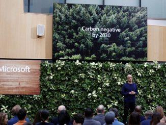 Microsoft se compromete a ser carbono negativo