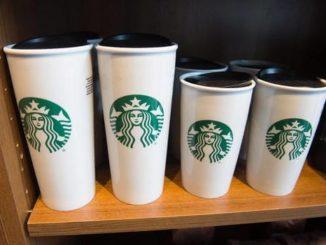Vasos reutililzables de Starbucks