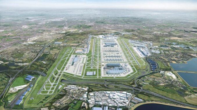El aeropuerto de Heathrow sería carbono neutral para mediados de 2030