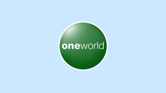 Oneworld y un compromiso de emisiones netas de carbono 0 para 2050