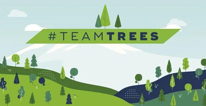 La campaña #TeamTrees de YouTubers superó grandes obstáculos