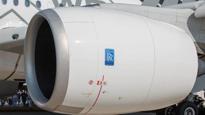 Rolls-Royce prueba motores con 100% SAF