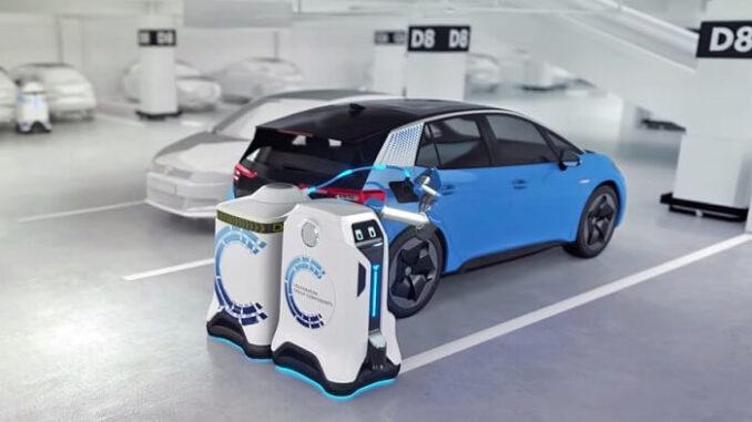 MCR: Mobile Charging Robot de VW