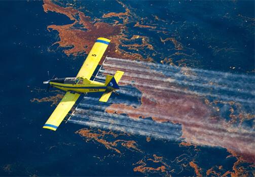 Cómo limpiar el derrame de petróleo con dispersantes