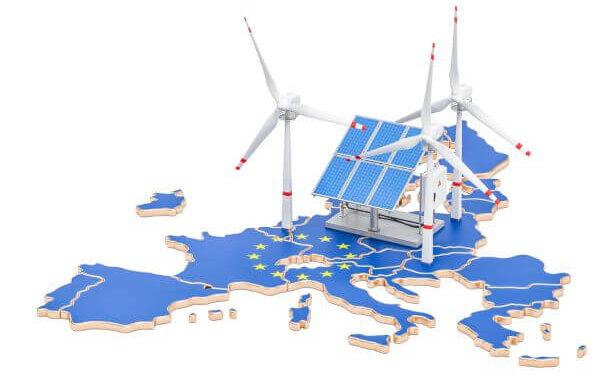 La energía renovable es la principal fuente de electricidad europea