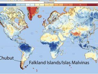 Nuevo atlas eólico mundial