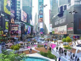 El Times Square sin automóviles