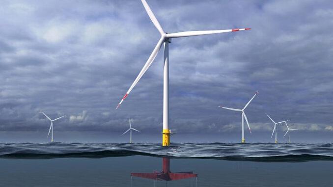 El nuevo diseño conceptual de las turbinas eólicas flotantes de GE